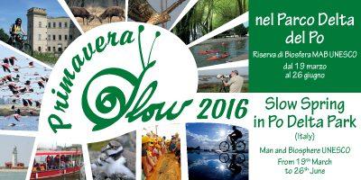Dal 19 marzo al 26 giugno Primavera Slow 2016, 14 settimane alla scoperta del Parco del Delta del Po,