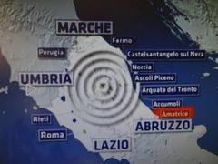 Terremoto in Centro Italia, Accumoli,  Amatrice,  Pescara del  Tronto, Arquata  del  Tronto