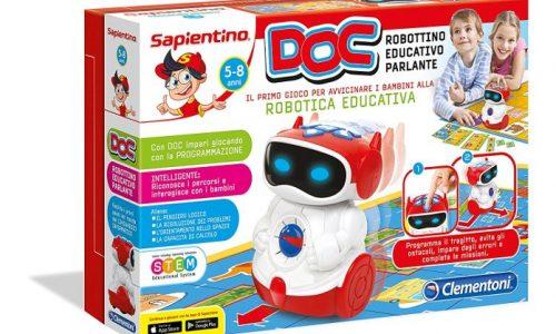 DOC, il Robottino di Sapientino, E  ALTRE  NOVITà   PER  BIMBI