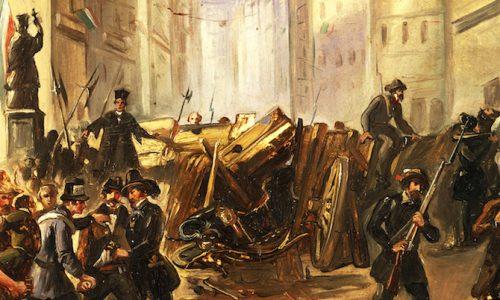 Lecinque giornate di Milano – 18 / 22 marzo1848