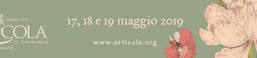 Orticola 2019 – XXIVa edizione – 17, 18, 19  maggio