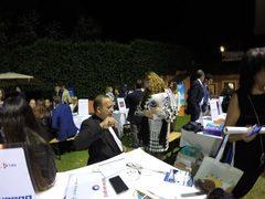 """Incontro di lavoro e """"Fiesta Cubana"""" nel giardino della residenza dell'ambasciatore di Cuba a Roma"""