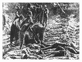 ARMENI: GENOCIDIO, 24 APRILE 1905, COMMEMORAZIONE
