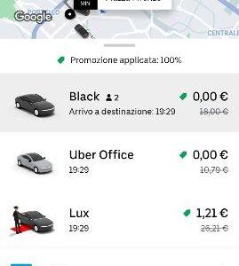 Da Uber 20 mila corse gratuite in Italia per la campagna vaccinazione COVID19