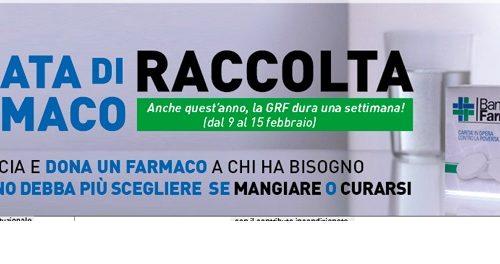 Al via la settimana della Raccolta del Farmaco per i poveri: dal 9 febbraio al 15 febbraio